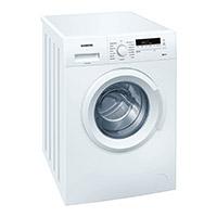 Siemens iQ100 WM14B222 iSensoric Waschmaschine / 1400 UpM / 6 kg / Weiß / SpeedPerfect / WaterPerfect / Super15 [Energieklasse A+++]