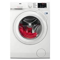 AEG LAVAMAT L6FB50470 Waschmaschine / A+++ / 1400 UpM / Mengenautomatik / Startzeitvorwahl / weiß / Frontlader [Energieklasse A+++]