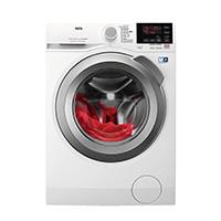 AEG L6FBA48 Waschmaschine Frontlader / Energieklasse A+++ (137,0 kWh/Jahr) / leiser Waschautomat mit XXL ProTex Schontrommel (8kg) / Waschmaschine mit Mengenautomatik und Handwaschprogramm / weiß [Energieklasse A+++]
