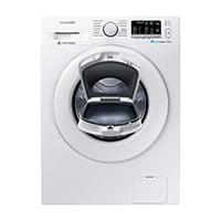 Samsung WW80K5400WW/EG Waschmaschine FL / A+++ / 116 kWh/Jahr / 1400 UpM / 8 kg / Weiß / Add Wash / Smart Check / Digital Inverter Motor [Energieklasse A+++]