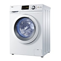 Haier HW80-B14266 Waschmaschine FL / A+++ / 108 kWh/Jahr / 1400 UpM / 8 kg / Aqua Protect Schlauch und Bodenwanne / weiß [Energieklasse A+++]