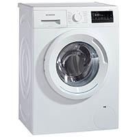 Siemens iQ300 WM14N2A0 Waschmaschine Frontlader / A+++ / 157 kWh/Jahr / 1390 UpM / 7 kg / Weiß / Großes Display mit Endezeitvorwahl / WaterPerfect [Energieklasse A+++]