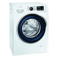 Samsung WW80J6400CW/EG Waschmaschine / A+++ / Frontlader / 1400 UpM 8 kg / SchaumAktiv / Trommelreinigung / blau [Energieklasse A+++]