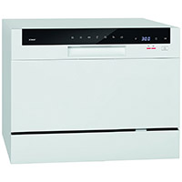 Bomann TSG 709 Tisch-Geschirrspüler, A+,6 MGD,174 kWh, Elektronische Programmsteuerung [Energieklasse A+]