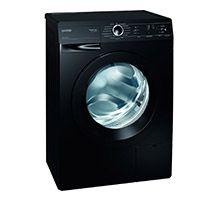 Gorenje W 6222 PB/S Waschmaschine FL / A++ / 6 kg / 1200 UpM / schwarz / SensoCare-Waschsystem / Quick 17 / SlimLine: Tiefe 44 cm / Colour Collection [Energieklasse A++]
