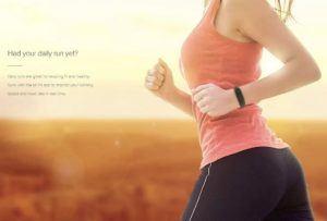 Xiaomi Mi Band 2 Fitnessarmband