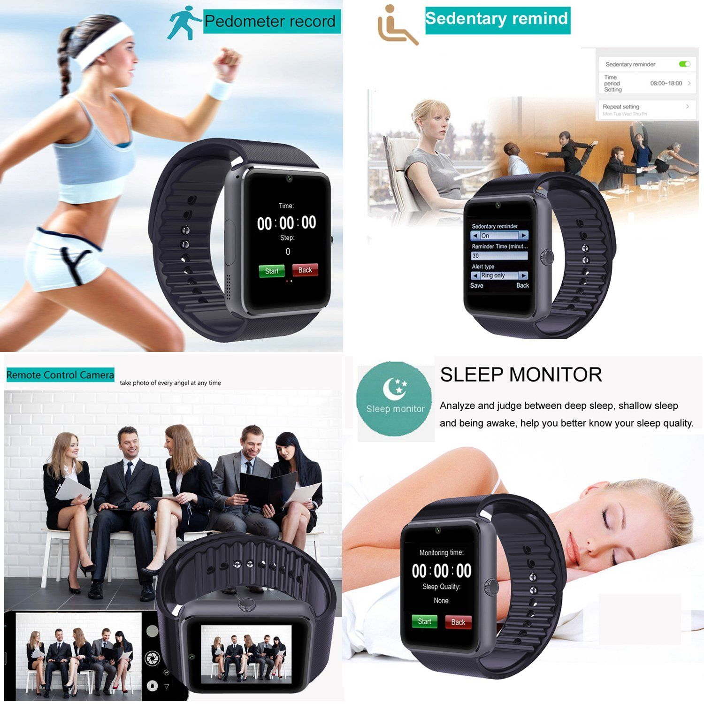 yamay sw016 smartwatch im test 2018 expertentesten. Black Bedroom Furniture Sets. Home Design Ideas