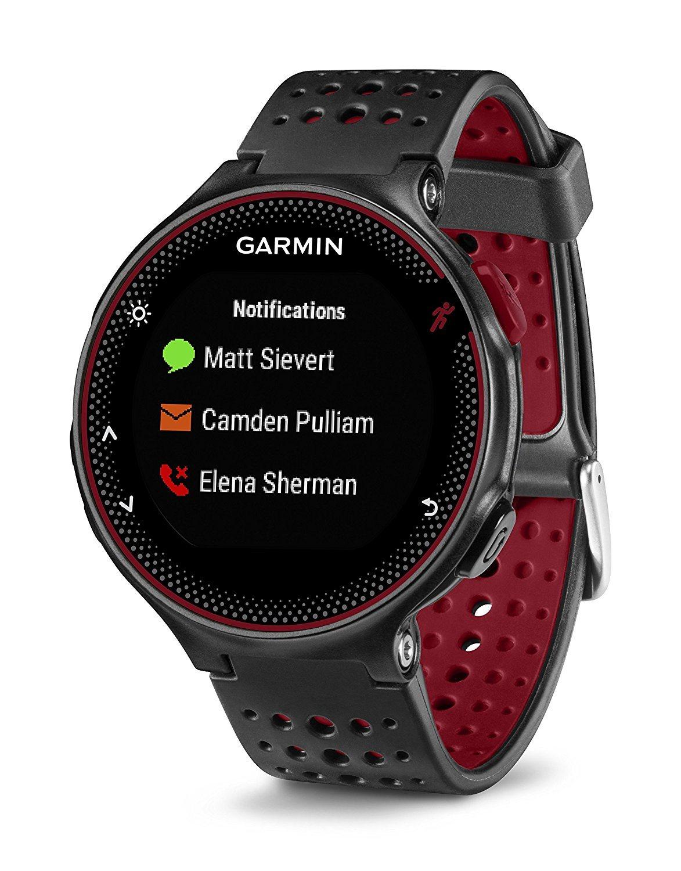 garmin forerunner 235 whr smartwatch im test 2018. Black Bedroom Furniture Sets. Home Design Ideas
