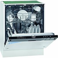 Bomann GSPE 786 vollintegrierbarer Geschirrspüler / Einbau / A+ A / 291 kWh/Jahr / 3360 Liter/Jahr / 12 MGD / 48 dB / Breite 60 cm / 6 Programme / schwarze Bedienblende [Energieklasse A+]