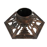 Christbaumständer Gusseisen 9525 bronze