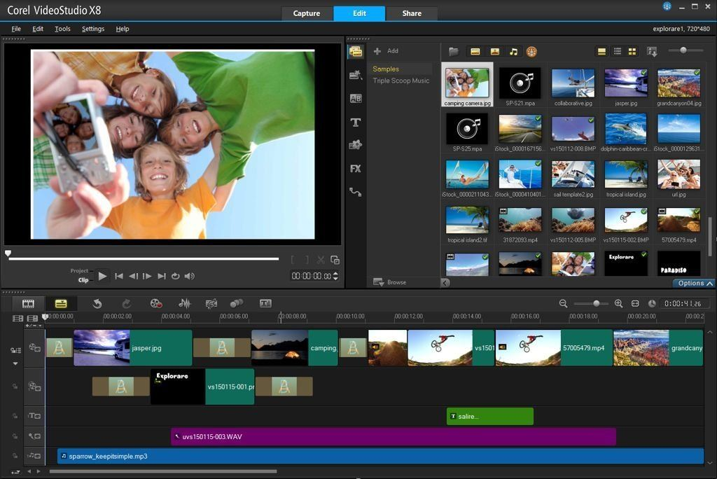 Corel VideoStudio Ultimate X8 Test