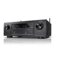 Denon AVRX1400H 7.2-Kanal AV-Receiver und HEOS Integration (Dolby Vision Kompatibilität, Dolby Atmos, dtsX, WLAN, Bluetooth, Amazon Music, Spotify Connect, 4K/60Hz 6 HDMI-Eingänge, 7x 145 W) schwarz