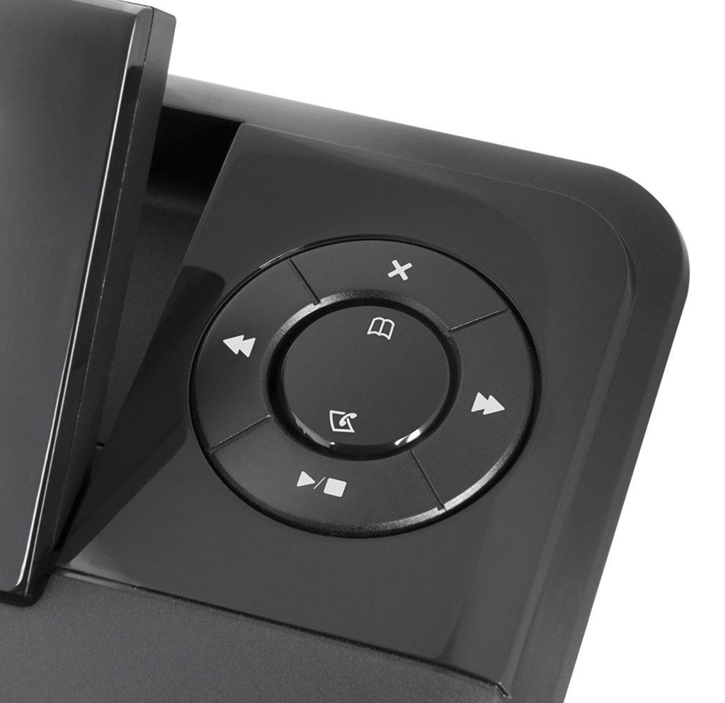 Doro Comfort 4005 Combo Schnurlostelefon Mit Anruferkennung Und Anrufbeantworter Schwarz 2