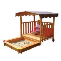 Gaspo-310375---Spielhaus-mit-Sandkasten