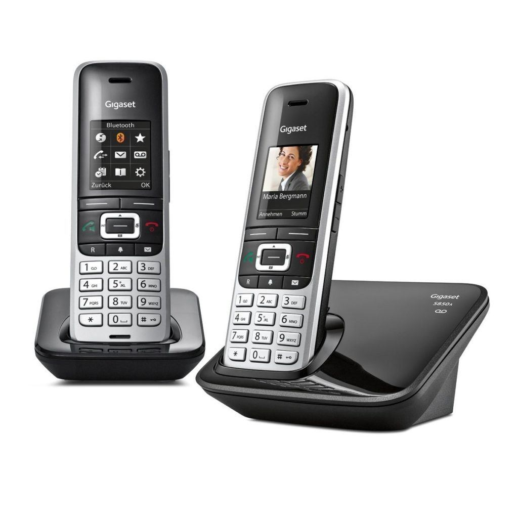 Gigaset S850A Duo Telefon Schnurlostelefon