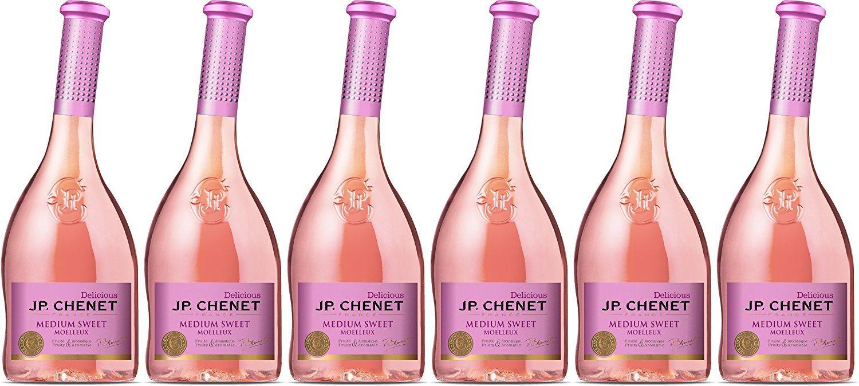 JP Chenet Medium Sweet Roséwein Lieblich (6 x 0.75 l)
