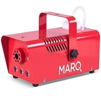 MARQ Fog 400 LED Quick-Ready kompakte Nebelmaschine (mit Pyro-Lichteffekt) rot