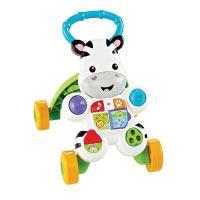 Mattel-Fisher-Price-DLD94-Lern-mit-mir---Zebra-Lauflernwagen