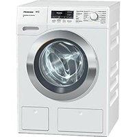 Miele WKR771WPS D LW PWash 2.0 und TwinDos XL Waschmaschine Frontlader / A+++ / 130 kWh / Jahr / 1600 UpM / 9 kg / Weiß / Für die große Wäsche - 9,0 kg Beladung / Schneller sauber geht es nicht - QuickPowerWash [Energieklasse A+++]