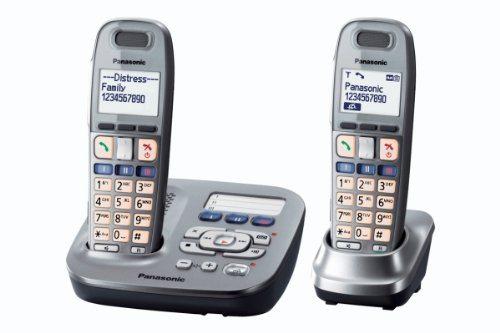 Panasonic KX TG6592GM Schnurlostelefon Mit Anrufbeantworter 1