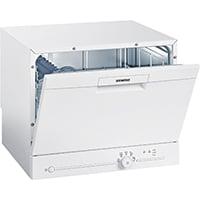Siemens SK25E203EU iQ100 Geschirrspüler / A+ / 174 kWh/Jahr / 6 MGD / 2240 l/Jahr / Auftischgerät [Energieklasse A+]