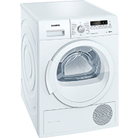 Siemens iQ700 WT46W261 iSensoric Wärmepumpentrockner / A++ / 8 kg / Weiß / Selbstreinigender Kondensator / softDry-Trommelsystem / Super40 [Energieklasse A++]
