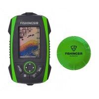 Smart Tiefe Fischfinder Sonar/Echolot - Portable Wireless Sonar Sensor Eisfischen 100m/328ft - Karpfen und Nachtfischen
