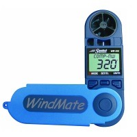 Speedtech Windmate WM-200 Windgeschwindigkeit/Richtung + Kompass – Blau