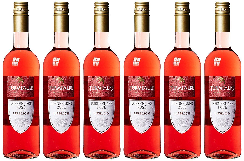 Turmfalke Dornfelder Rosé Qualitätswein süß