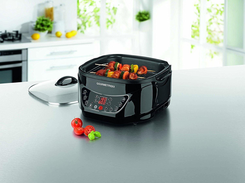 Gourmetmaxx 09875 Multikocher Küchenmaschine Infrarot Mit Grillrost