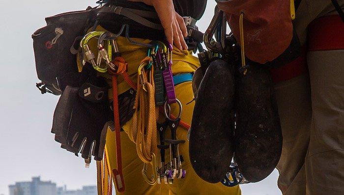 Klettersteigset Y Oder V : Klettersteigset test u die besten klettersteigsets im