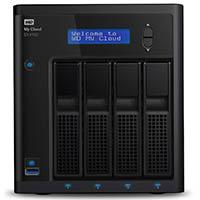 WD My Cloud EX4100 Leergehäuse - Expert Series - Network Attached Storage - 4-Bay NAS - WDBWZE0000NBK-EESN