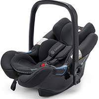 CONCORD KINDERAUTOSITZ AIR.SAFE, GRUPPE 0+ (0-13 KG), RAVEN BLACK, KOLLEKTION 2015