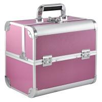 Yahee Kosmetikkoffer Multikoffer Schminkkoffer Beauty Case Alu pink