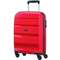 American Tourister Bon Air - Spinner S Koffer, 55 cm, 31.5 L, Magma Red
