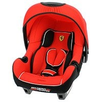 OSANN BE ONE SP FERRARI COSRA BABYSCHALE/ KINDERAUTOSITZ 2015 in rot