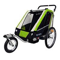Der PAPILIOSHOP LEON Anhänger Kinderwagen im Vergleich