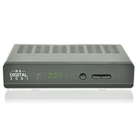 NA-Digital Sat Receiver 3001 HD HDTV im Test