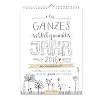 A4 Bastelkalender 2018, Fotokalender