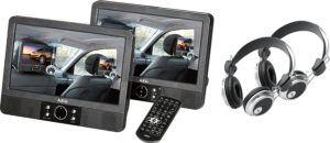 AEG DVD 4552 LCD Tragbarer DVD-Player (22,86 cm (9 Zoll) Display