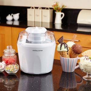 Eismaschine von Andrew James in der Küche