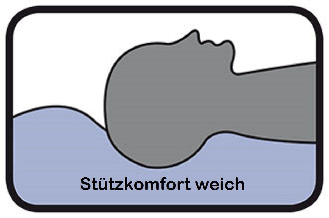Stützkomfort weich einer Daunendecke von Böhmerwald in der Darstellung