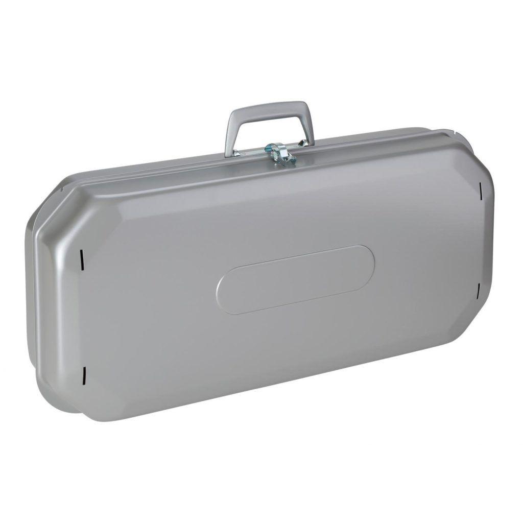 Gasgrill als Koffer von Berger eingepackt