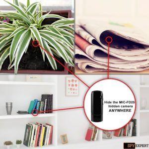 Beste USB-Flash Drive SPY Cam für diverse Versteckmöglichkeiten