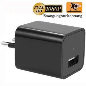 Bewegungserkennung Spion in einem Stecker mit USB-Anschluss