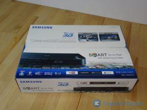 BluRay Player von Samsung in der Verpackung