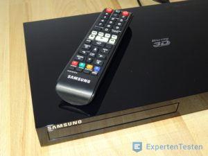 BluRay Player von Samsung mit Fernbedienung