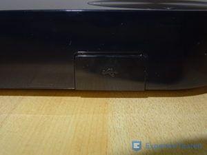 USB-Anschluss am BluRay Player von Samsung im Detail