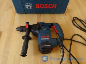 Bohrhammer von Bosch mit Koffer betriebsbereit