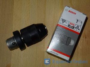 Zusätzlicher Bohrkopf vom Bohrhammer von Bosch mit Verpackung